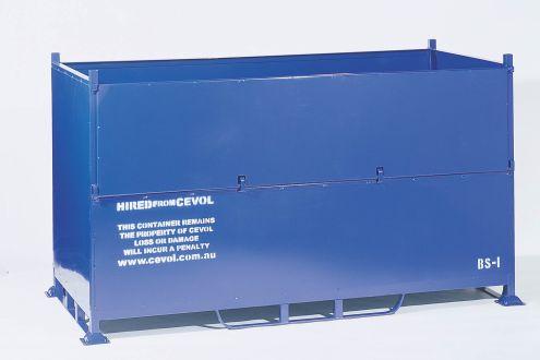BS-I Bulk Sheet Stillage with half drop gate, Commercial grade