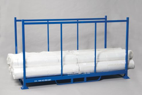 Bulk Open Steel Pallet with fixed end frames
